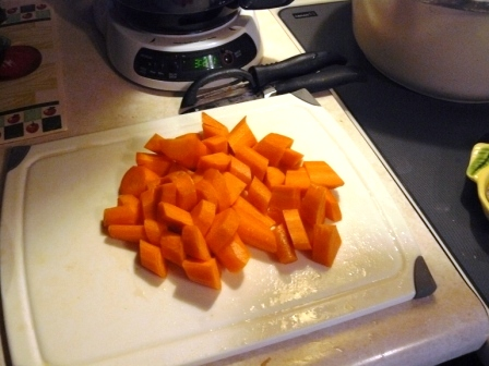 Chunky Carrots